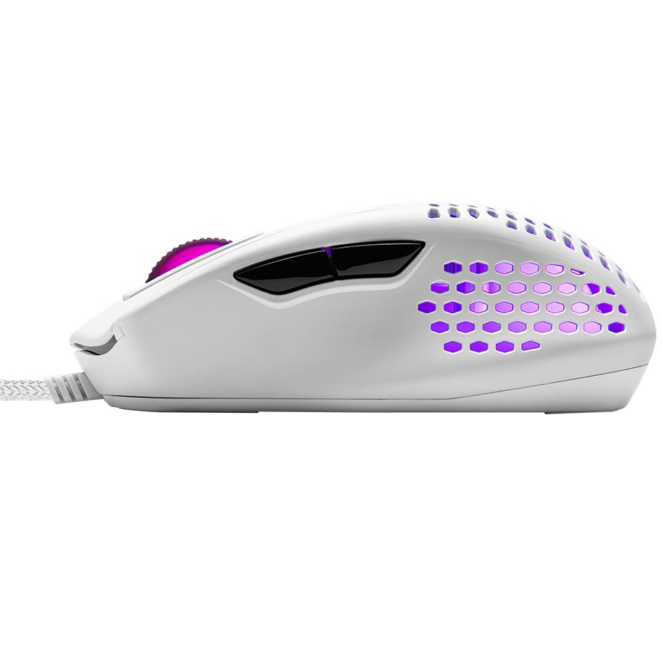 Cooler Master MM720 MM711 MM710 49g RGB Gaming Mouse Optical Sensor Lightweight Honeycomb Shell Weave Cable IP58 PixArt PMW3389 enlarge