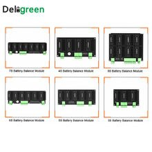 QNBBM Active voltage equalizer balancer 3S 4S 5S 6S 7S 8S balance moduel BMS for LiFePO4,LiPO,LTO,NCM,Li 18650 DIY Battery Pack