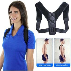 K-STAR Adjustable Back Posture Corrector Support Belt Clavicle Spine Back Shoulder Lumbar Posture Correction Brace