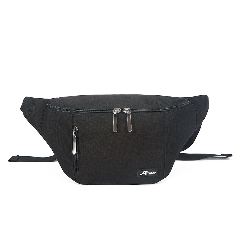 Waist Bag Men's Multifunctional Running Hip-Hop Street Messenger Bag Fashion Chest Bag