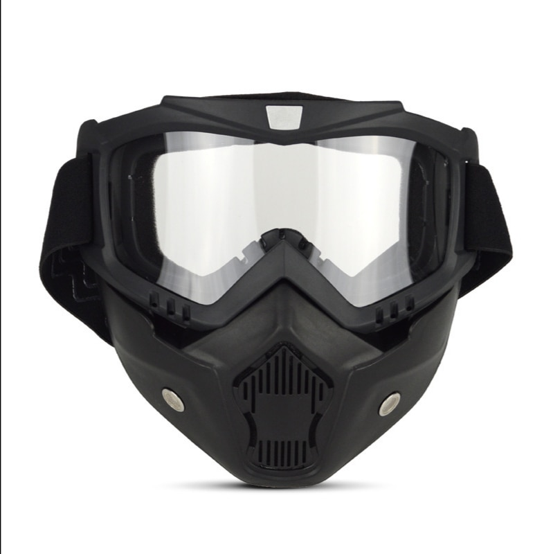 Retro goggles off-road motorcycle goggles wind sand helmet goggles cold rain goggles ski mask prescription motorcycle goggles enlarge