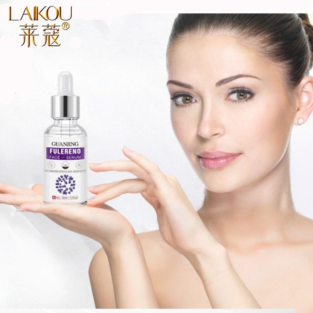 LAIKOU Fullerene Stock Solution Facial Serum Anti-Aging Essence Moisturizing Oil Control Whitening Lifting Face Serum Skin Care недорого