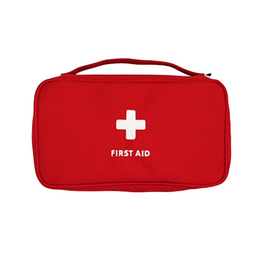 Kit de primeiros socorros para medicamentos acampamento ao ar livre bolsa sobrevivência kits de emergência conjunto viagem portátil