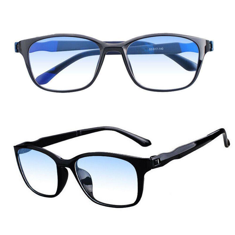 Progressive Multifocal Reading Glasses Anti Blue Light Lens Frame Rays Radiation Blocking for Men Wo