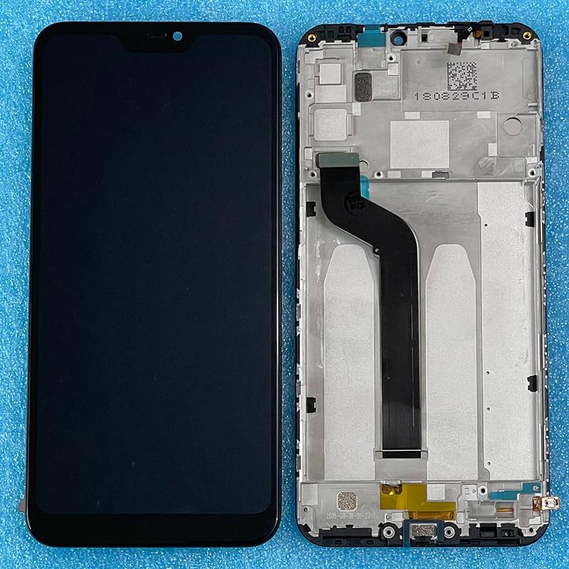 Original Axisinternational For Xiaomi Redmi 6 Pro LCD Screen Display+Touch Digitizer With Frame For Xiaomi A2 Lite MI A2 Lite