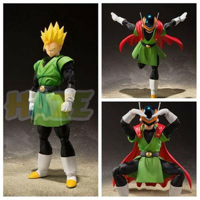 S. H. Figuarts dragón BallZ Son Gohan versión juvenil figura de acción modelo estatua de PVC juguete 14cm nuevo sin caja