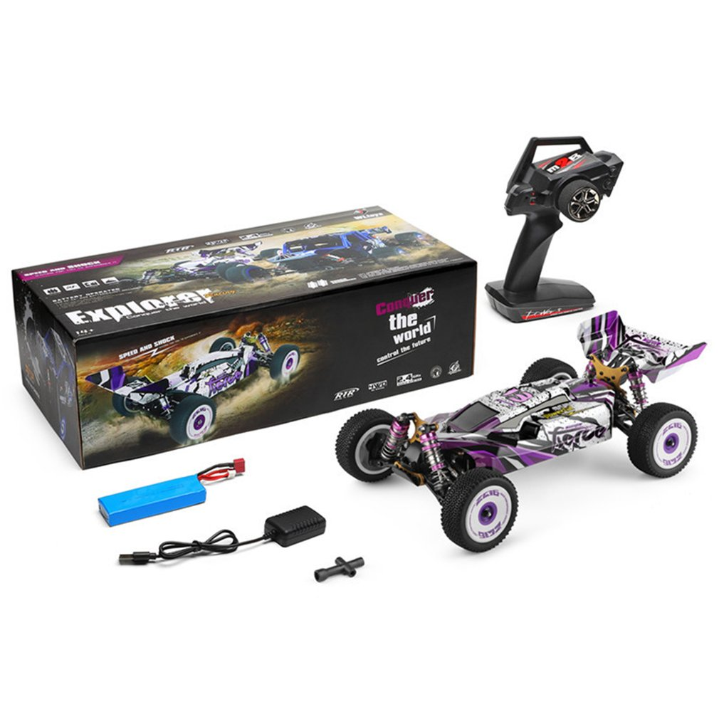 1:12 Electric Four-wheel Drive Car Off-road High-speed Electric Model RC Competition High Efficiency Motor
