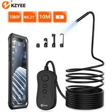 KZYEE-caméra endoscopique WIFI 1080P 5.5mm HD, pour Inspection sans fil, pour Android et IOS, 3.5M 5M 10M