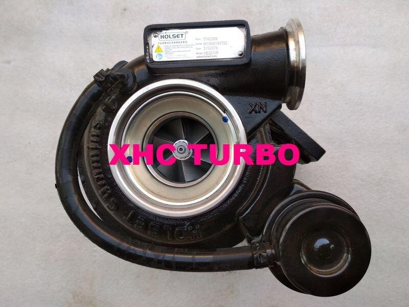 شاحن توربيني HOLSET HE211W 3782369 3782376 لـ DCEC CUMMINS ISDe4 4.5L 105KW