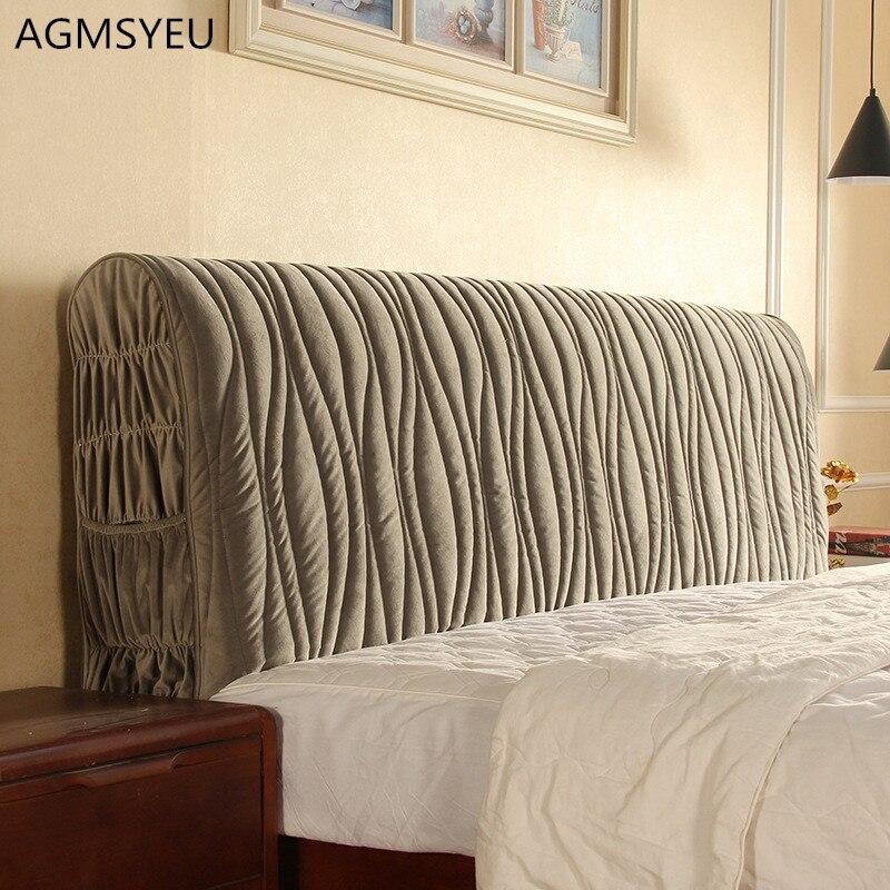 120-220 سنتيمتر شامل أقمشة المفارش الحديثة الغبار برهان مطاطا كامل اللوح الأمامي للسرير غطاء السرير واقية مع جيب