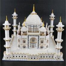 Архитектура 17008 строительные блоки совместимый создатель эксперт Лепин 10256 модель Тадж Махала набор игрушек рождественские подарки
