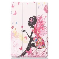 case for all new kindle fire hd 10 novel pattern slim lightweight tri fold shell multi angle stand cover fire hd 10 plus