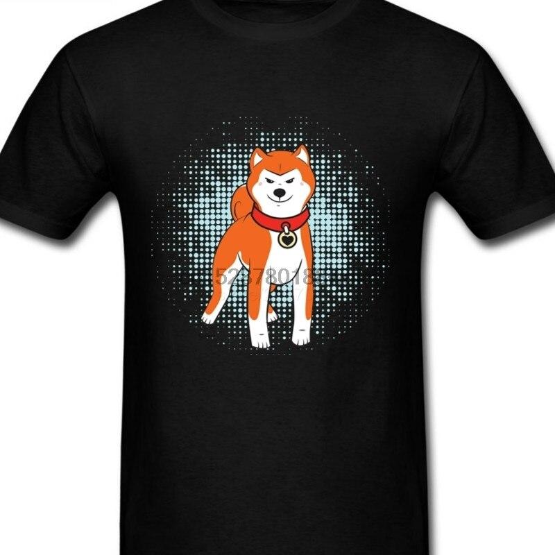 Футболка menхип-хоп с японским Akita Doge Сиба ину Inu, Повседневная футболка на заказ с коротким рукавом для вечеринки в стиле Святого Валентина, футболки большого размера