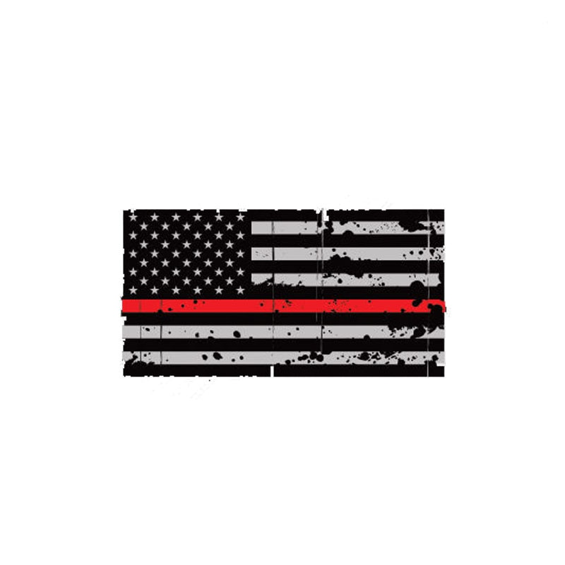 Tattered American Flag Car Stickers Styling Decals Car Window Decals  Window Bodywork Vinyl Car Inte
