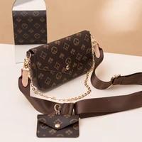 vintage printing handbag 2 in 1 fashion brand messenger bags for women pu leather crossbody bag lady small purse handbag totes