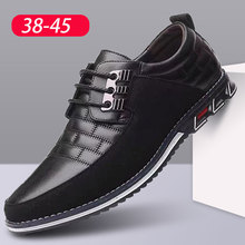 High Quality Big Size Casual Shoes Men Fashion Business Men Casual Shoes Hot Sale Spring Breathable
