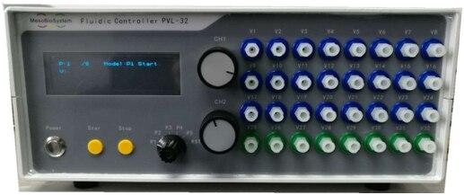 نظام التحليل الجزئي الكامل رقاقة مختبر التحكم في التدفق الجزئي مضخة حقن الضغط أداة التحكم برنامج السائل