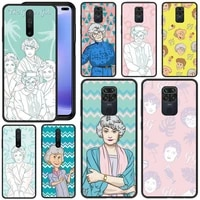 tv the golden girls phone case for redmi 5 6 plus k 7 8 9 20 30 x a pro note 4 5 6 7 8 9 s x a phone cover coque