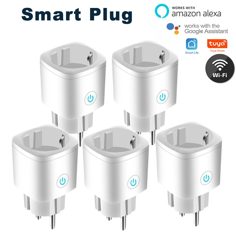 WiFi Smart Plug EU Adaptor Wireless Remote Switch Voice Control Power Monitor Outlet Timer Socket For Alexa Google Home chris dannen google voice for dummies
