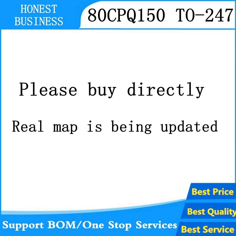 5 uds.-20 Uds./lote 80CPQ150 80CPQ150PBF diodo Schottky 80A 150V a-247 la mejor calidad