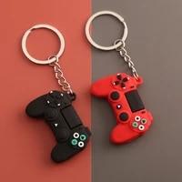 creative mens simple video game handle keychain couple joystick machine keyring pendant for boyfriend key holder trinket gift