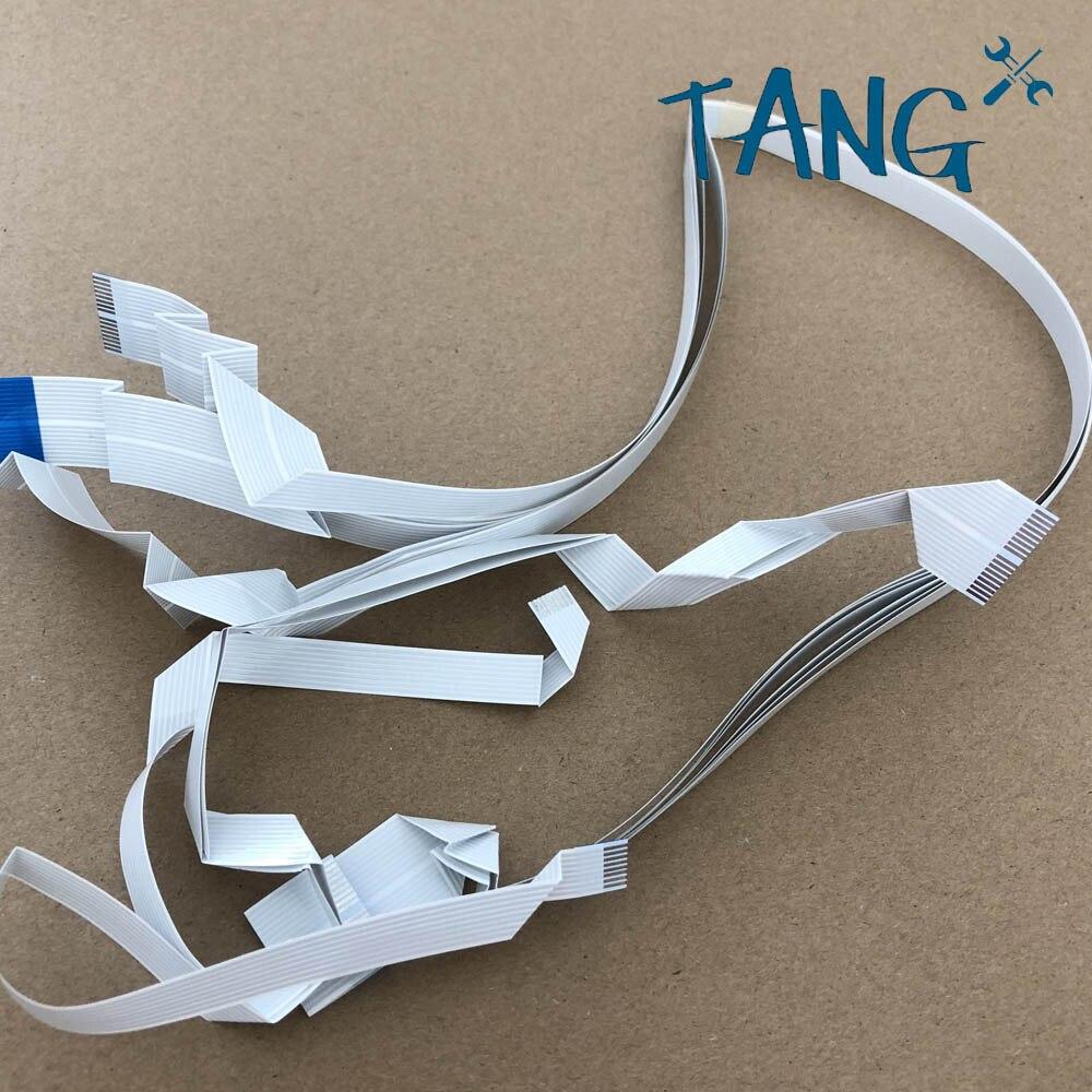 1PC imprimir cable de datos con cabeza para Epson WF-7610 WF-7620 WF-7621 WF-7110 WF-7111 WF-7100 impresora Flex Cable de cabezal de impresión