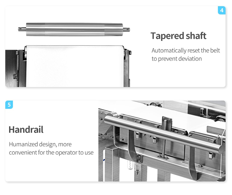 Digital Weight Machine High Sensitivity Weighing Scale Checkweigher Conveyor enlarge