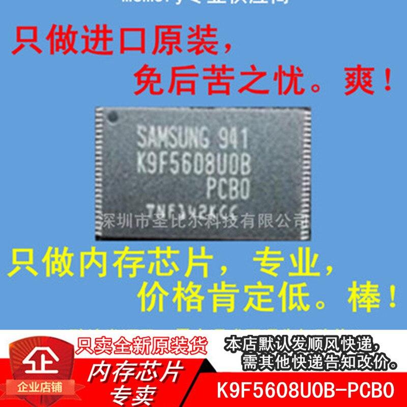 K9F5608U0B-PCB0 32MB memoria Flash SLC NAND TSOP48 10 Uds