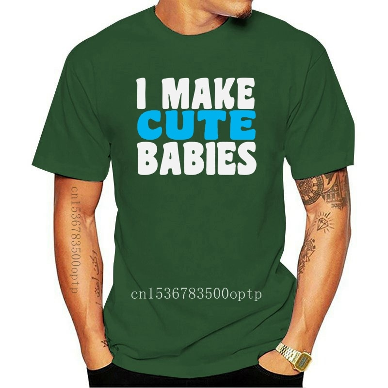 New I make cute babies baby dad matching set baby grow t shirt father son