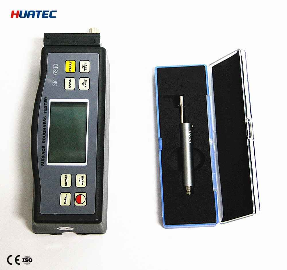 SRT-6210 Ra Rq Rz Rt 4 Parameters Digital Surface Roughness Tester with Separate Sensor enlarge