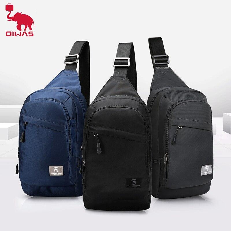 oiwas men Oiwas Men Crossbody Bag One Shoulder Chest Pack Men's Messenger Multifunctional Bags Fashion Boys Sling Bag For Sport Traveling