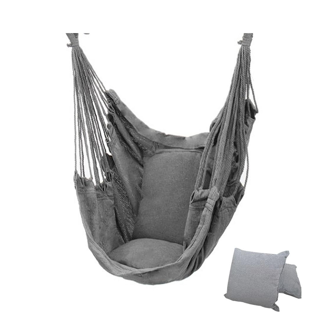 2021 уличный гамак, качели, утолщенное кресло-качели, подвесное качели, портативное расслабляющее холщовое качели, для путешествий, кемпинга, ...
