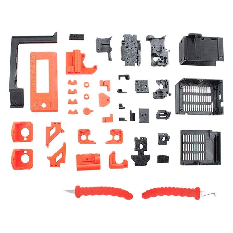 PETG المواد المطبوعة أجزاء ل Prusa I3 MK3S ثلاثية الأبعاد مجموعة الطابعة ثلاثية الأبعاد ملحقات الطابعة