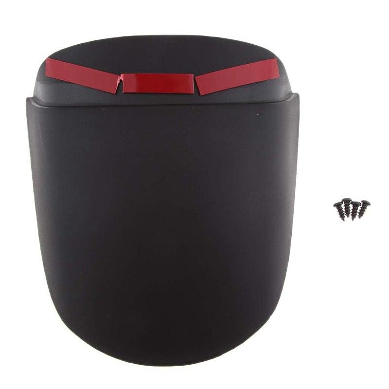 Guardabarros delantero para motocicleta, extensor de extensión para Vespa Sprint (negro)