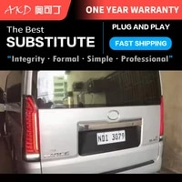 car tail lights parts for toyota hiace 2019 2021 taillights rear lamp led signal reversing parking facelift