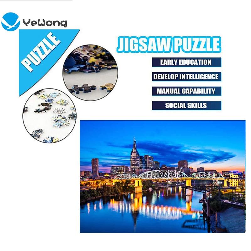 Free Shipping Genuine Spot Jigsaw 2000 Piece Bridge Adult Jigsaw