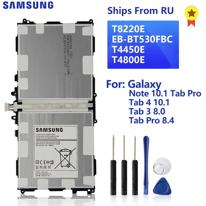 Оригинальный аккумулятор SAMSUNG T8220E для Samsung Galaxy Note 10,1 Tab Pro P600 SM-T520 Tab 4 10,1 T530 Tab 3 8,0 T310 Tab Pro SM-T320