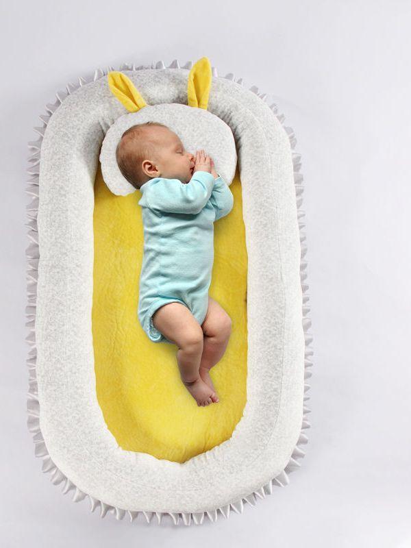 Портативная и портативная постельная корзина для новорожденных