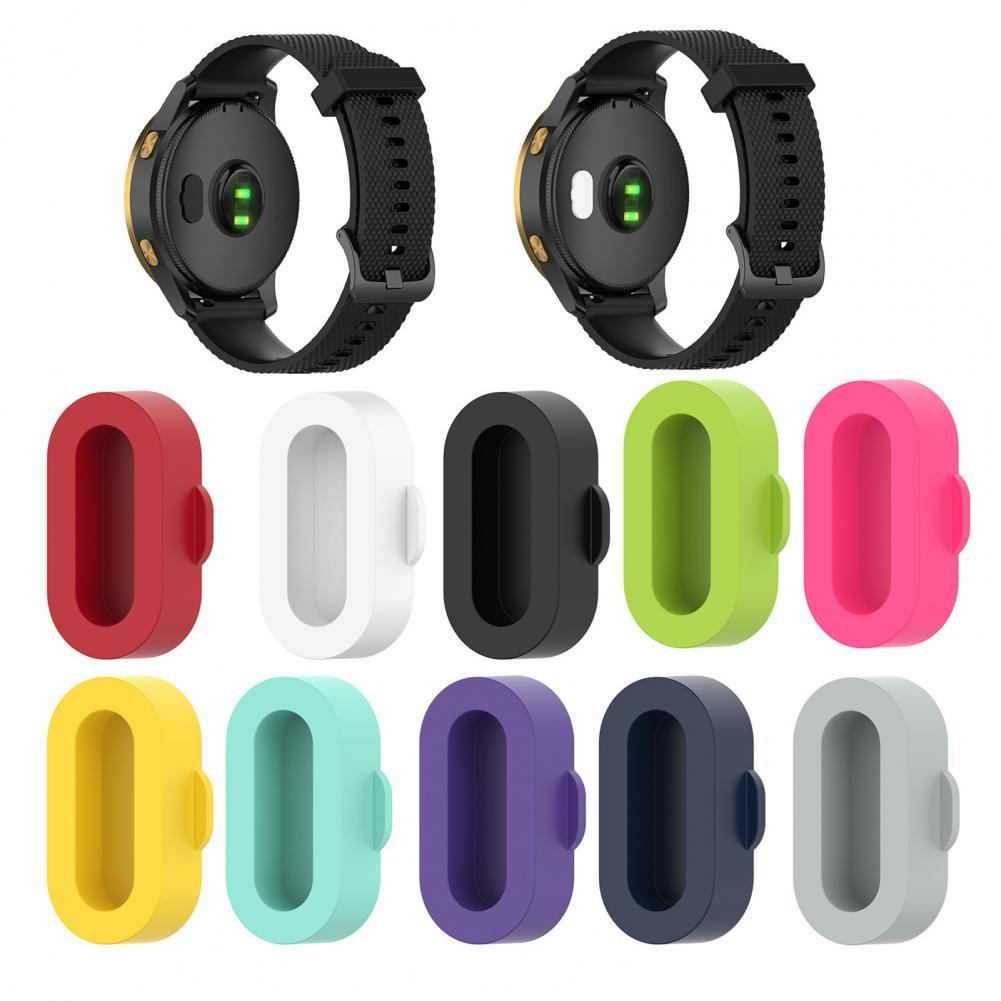 10Pcs Silicone Dustproof Cap Cover for Garmin Fenix5 5S 5X 6 6S 6X Charging Port Wearable Devices Smart Accessories