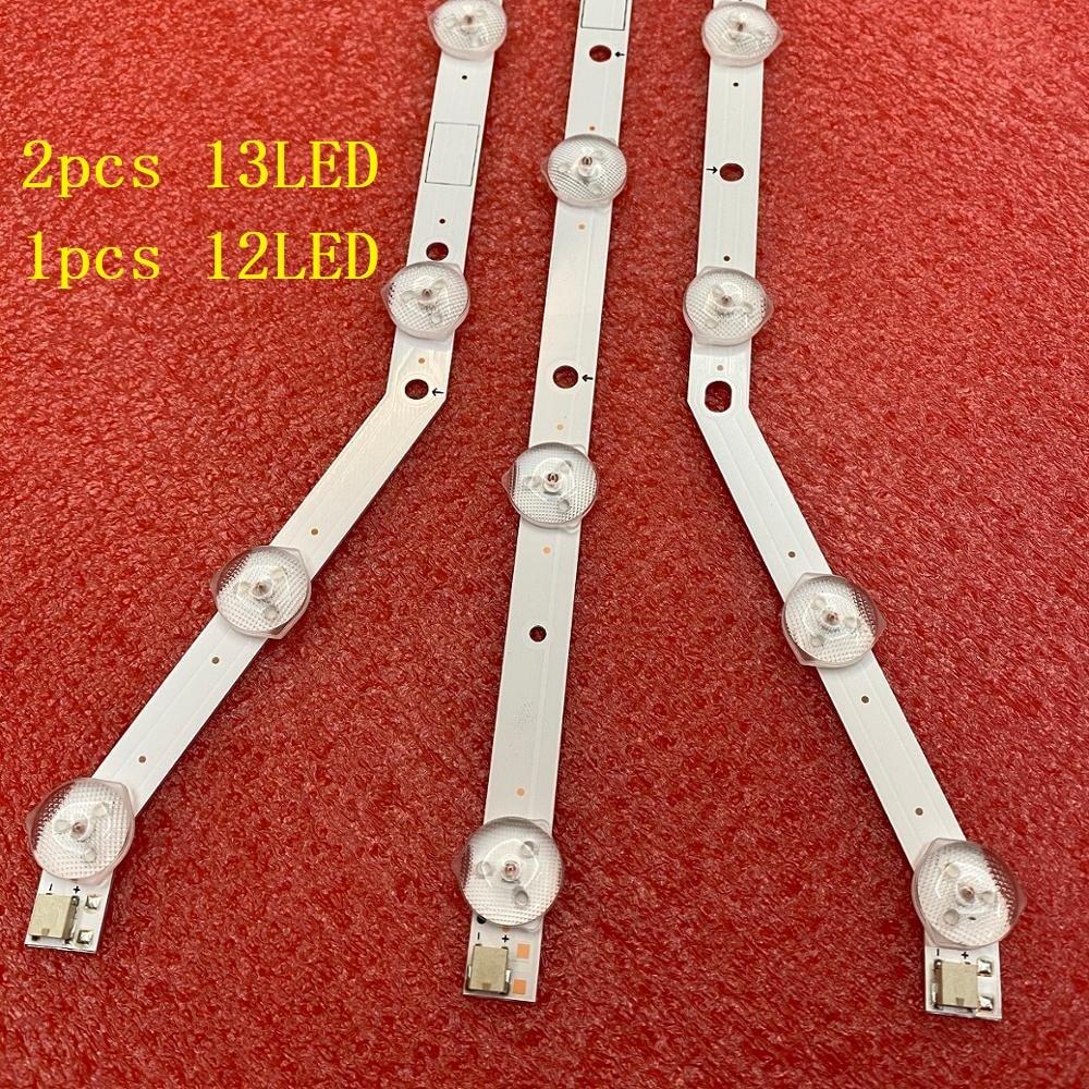 3 قطعة LED الخلفية قطاع ل UE40EH5047 UE40EH5050 UE40EH5057 UE40H5003 UE40EH5037 UE40EH5005 UE40H5203 UE40H5004 UE40H4200AK