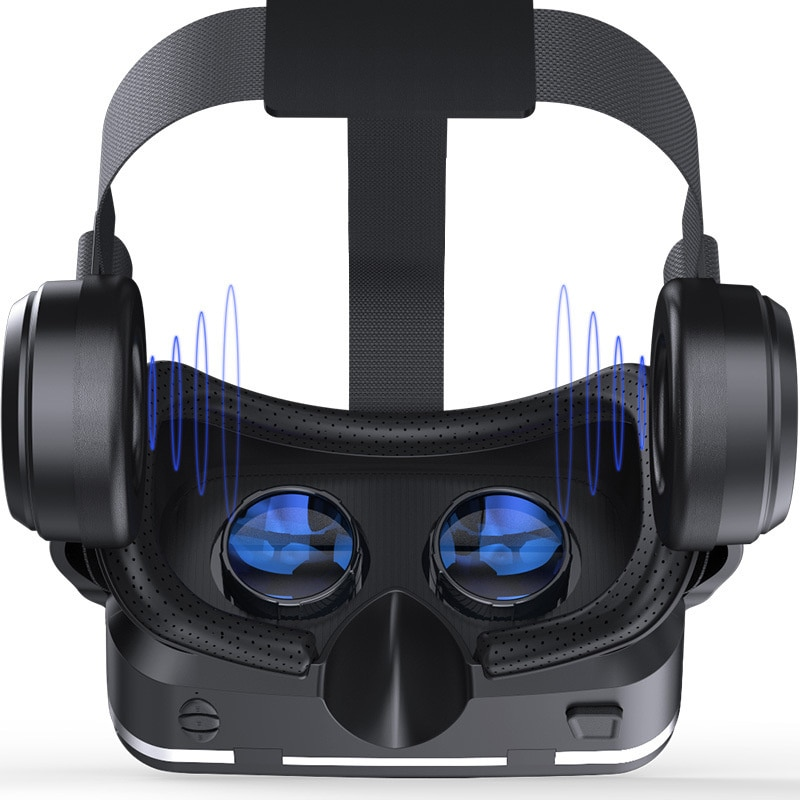 Qianhuan 6th generation VR glasses 3D virtual reality g04e / a VR game machine headset mobile game handle enlarge