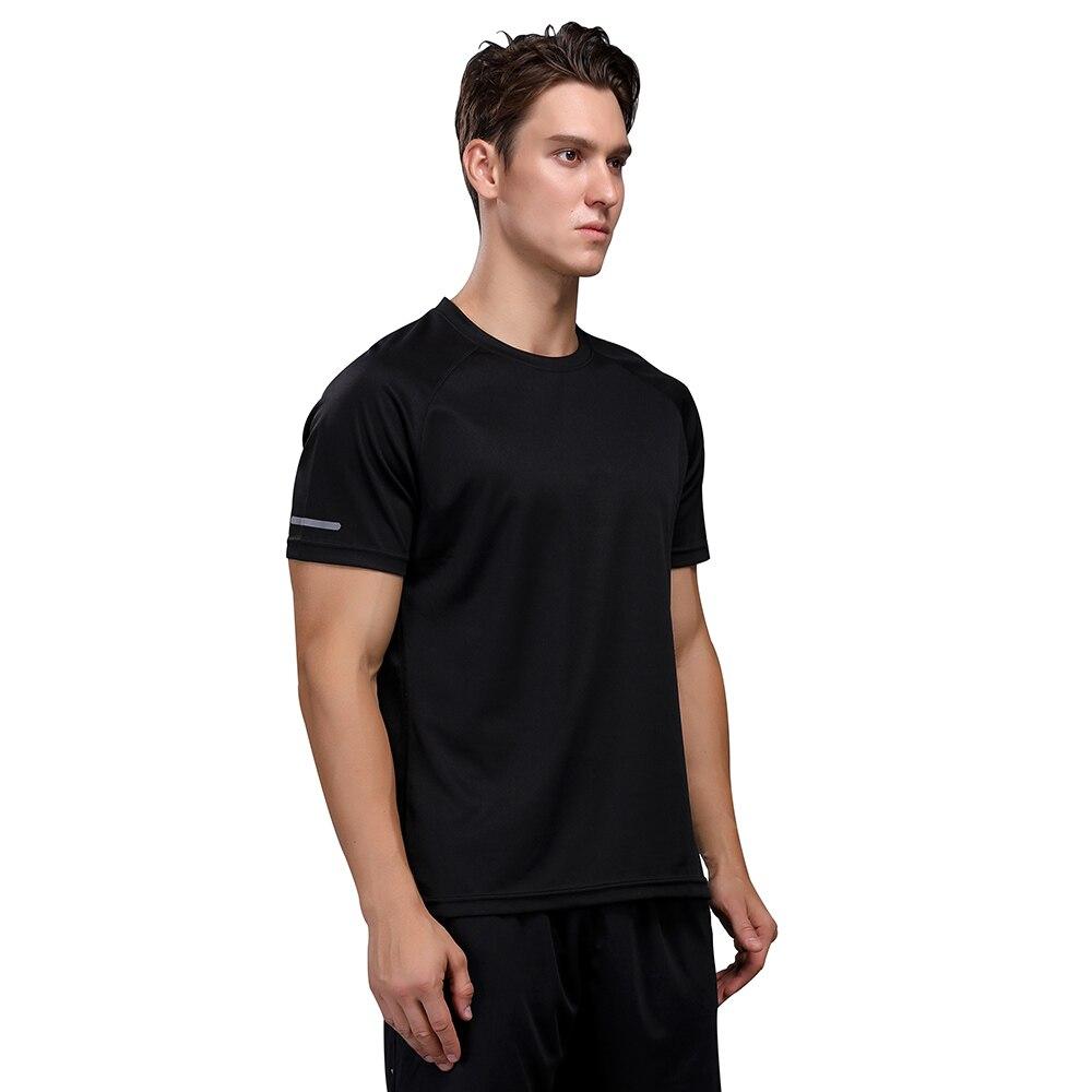 sport shirt men tops running shirts men gym t shirt fitness sports shirt fit quick dry running shirt hombre недорого