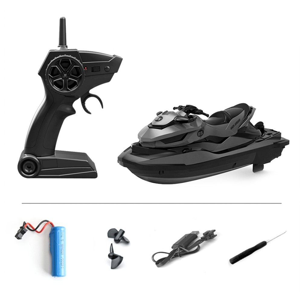 2.4G 4CH M5 Mini High-Speed Remote Control Boat  50 Meters Remote Control Distance Summer Waterproof Electric Motor RC Boat enlarge