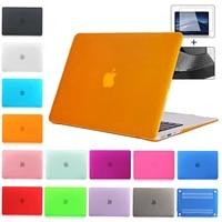 matte case for macbook air 13 2020 pro 16 2019 2018 11 retina 12 15 2016 laptop case shell cover