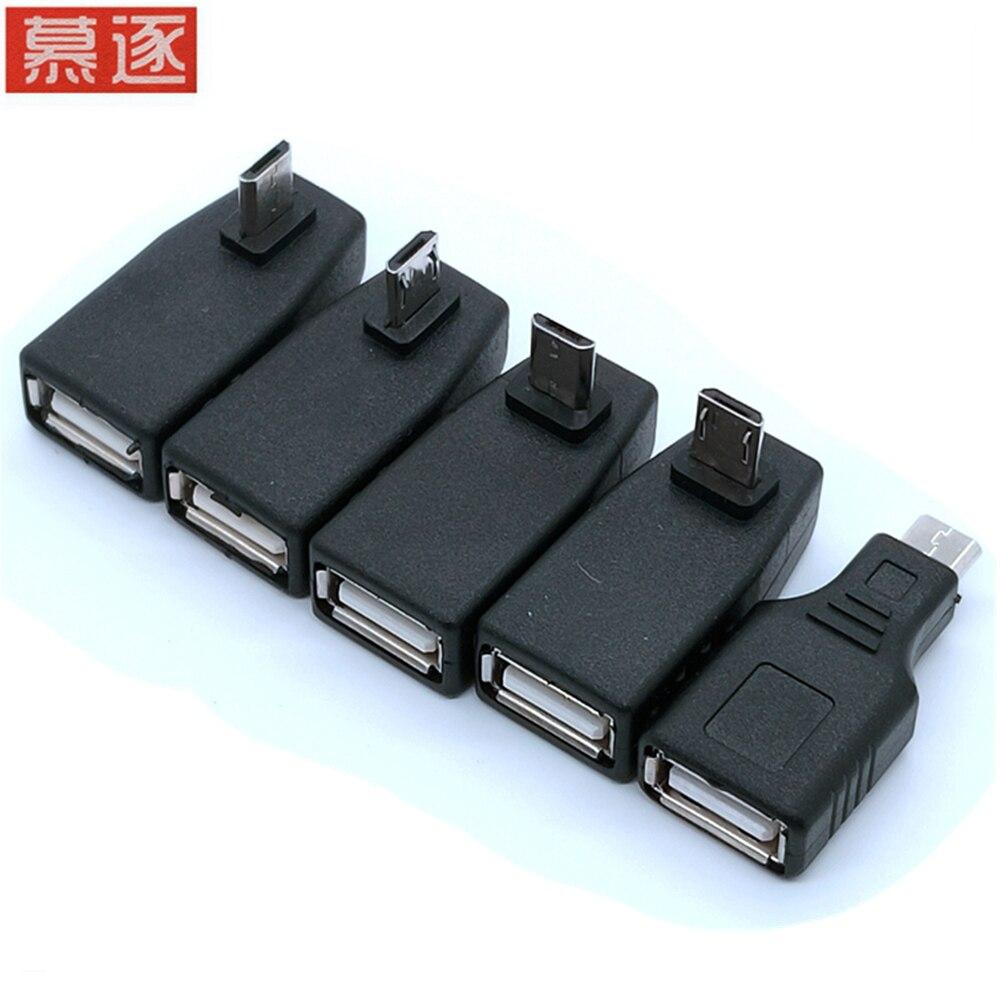 Mini USB 2,0 A hembra A Micro/ Mini USB B, adaptador de...