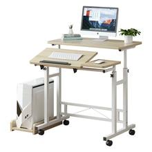 Table dordinateur portable peut monter et tomber table de chevet simple table mobile multifonction