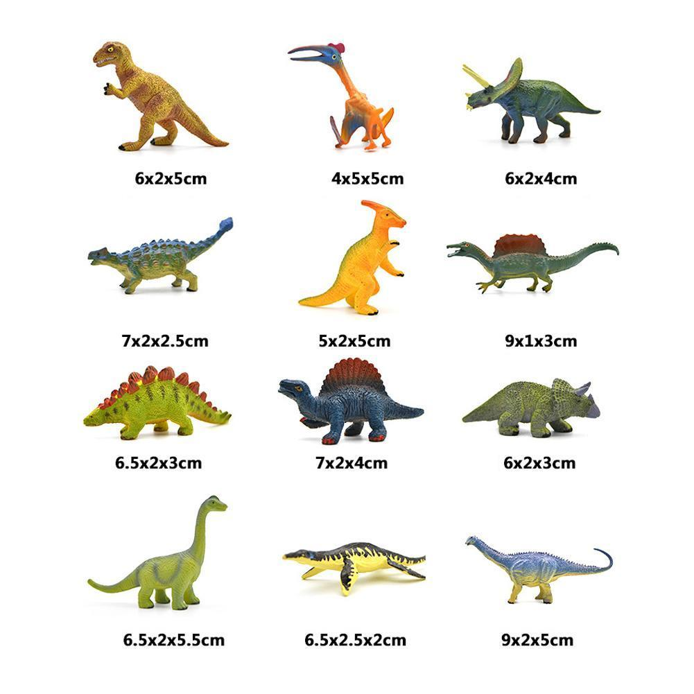 simulation pvc figure series of marine animals toys decoration new boxed toy model gift 13pcs set 12pcs/set Mini Animal Model Simulation Dinosaurs Marine Doll Wildlife Educational Gift Animals toy Model For children T1H5