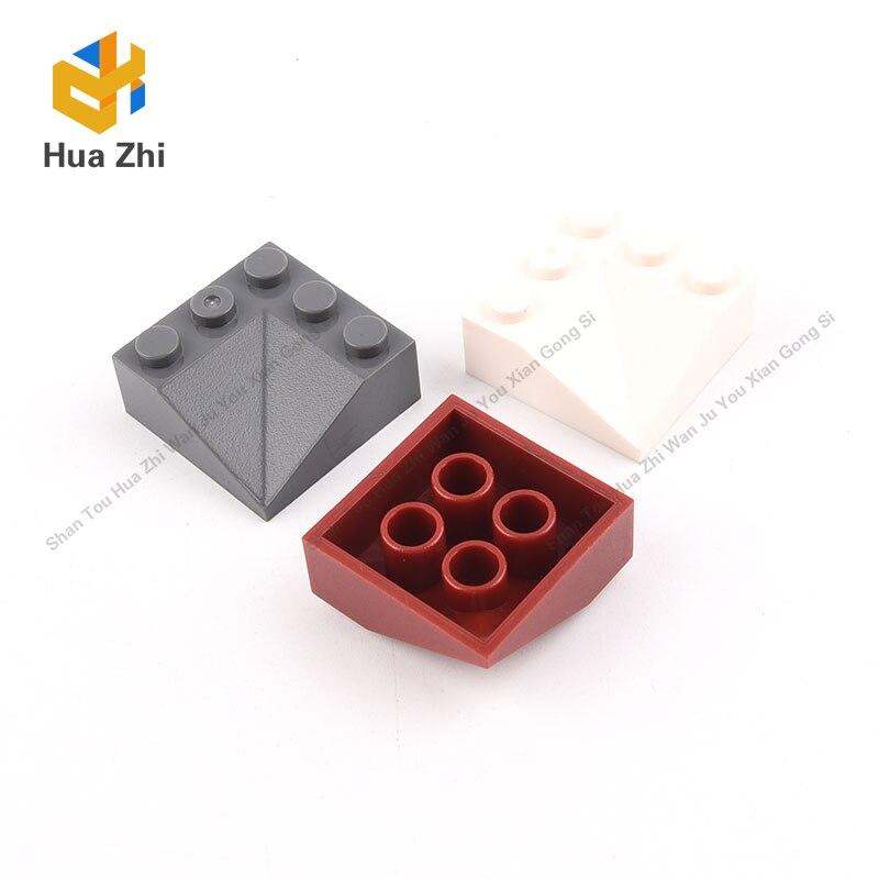 10PCS 99301 Slope 33° 3 x 3 Double ConcaveBuilding Blocks Parts  MOC  DIY Education Build Toys  Brick