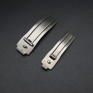 Wholesale 10PCS/lot Stainless Steel watch buckle watch parts 6mm 9mm watch bands parts 6021 -WP0002