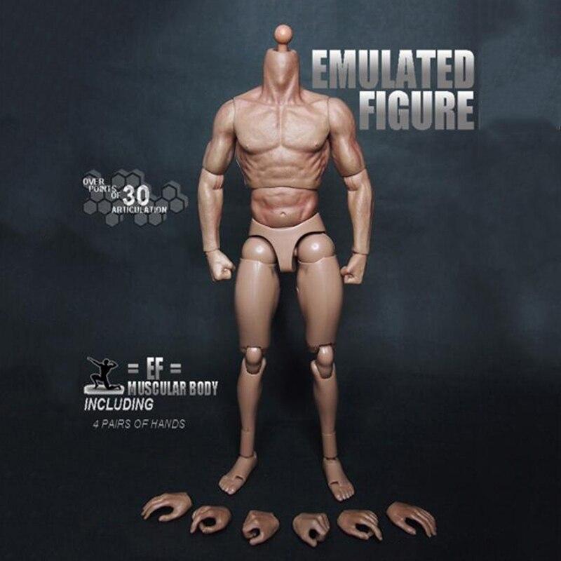 """TTM19 1/6 весы S005 S002 Мужская нагрудная модель тела, мышечная конструкция, аналогичная 12 """"экшн-фигурки, игрушки для головы, модель в подарок"""